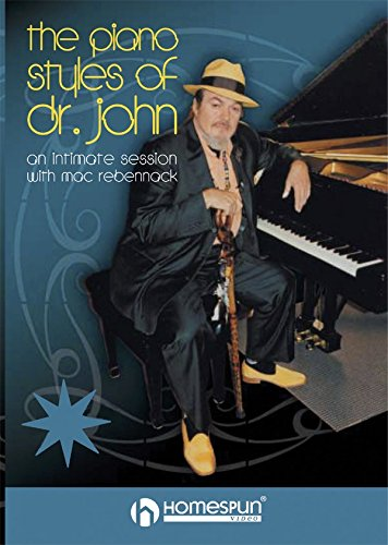 The Piano Styles of Dr. John: An Intimate Session with Mac Rebennack [Instant Access]
