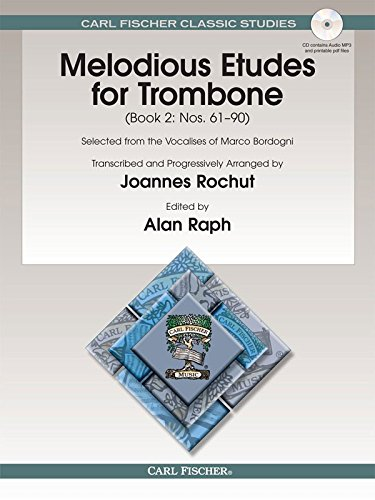Melodious Etudes for Trombone, Book II