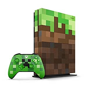 Xbox One Console S 1TB Minecraft Limited Edition