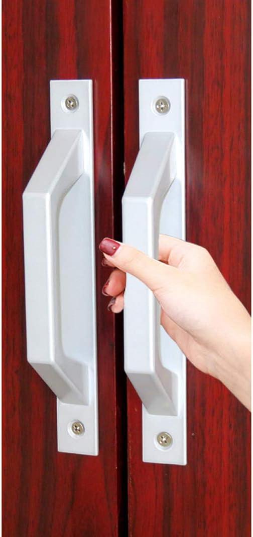 Manija de madera para puerta corredera de granero, 19,6 cm: Amazon.es: Hogar