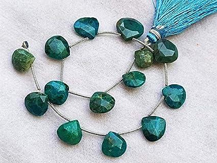 Peru Opal Heart Shape Beads Peru Opal Faceted Heart Shape Gemstone Beads Peru Opal Natural Beads Peru Opal Peru Opal Faceted Beads