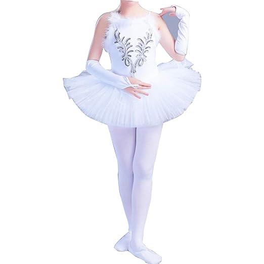 WCZZ De los niños trajes de baile Ballet Little Swan ...