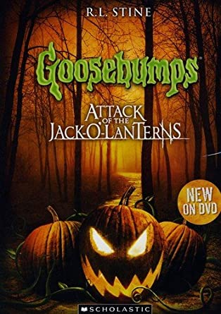 Amazoncom Goosebumps Attack Of The Jack O Lanterns Goosebumps