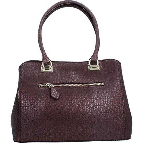 Shoppers y bolsos de hombro para mujer, color Rojo , marca GUESS, modelo Shoppers Y Bolsos De Hombro Para Mujer GUESS HWSG67 Rojo Rojo