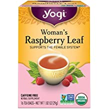 Yogi Tea, Woman's Raspberry Leaf, 16 Count (Pack of 6), Packaging May Vary