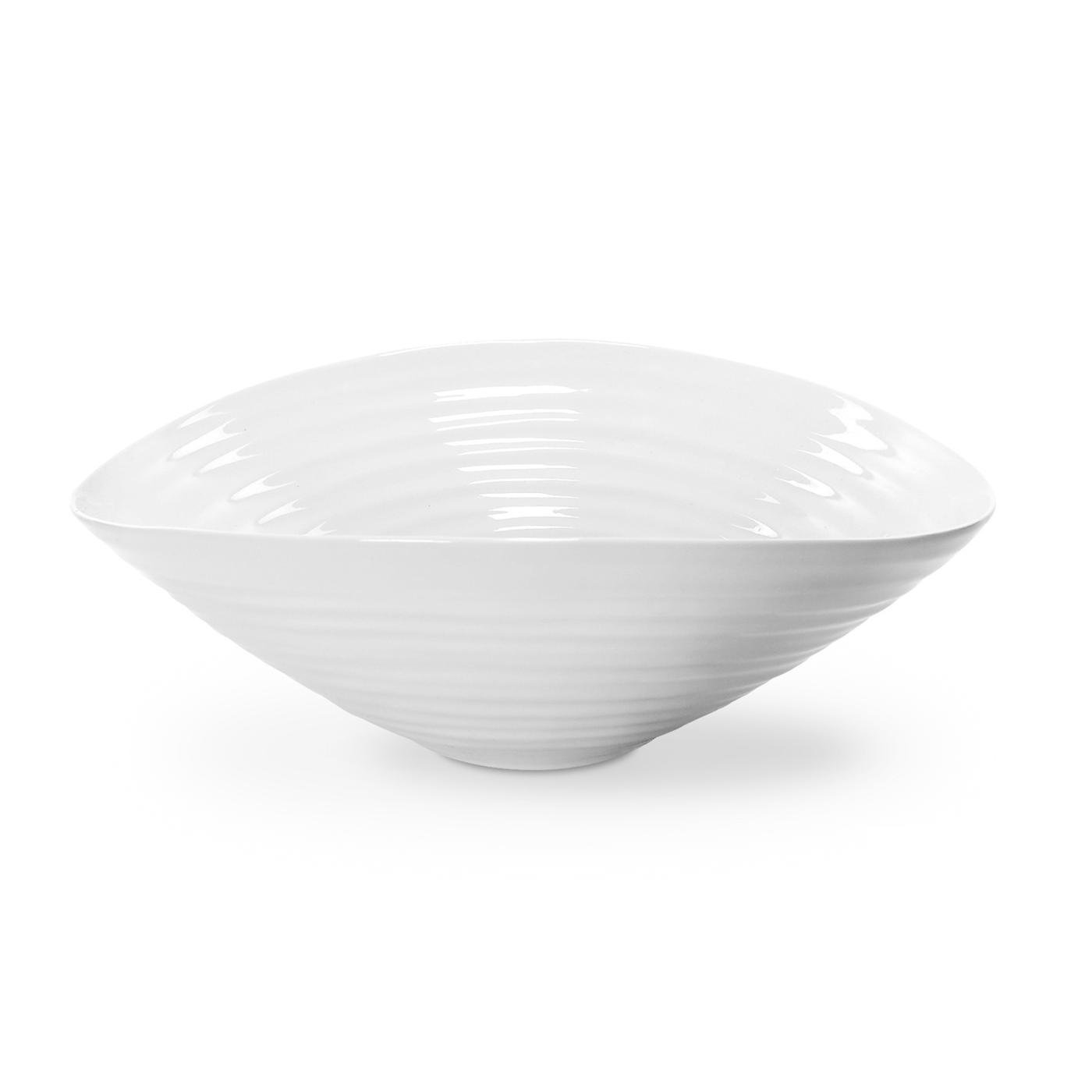 Portmeirion Sophie Conran White Large Salad Bowl