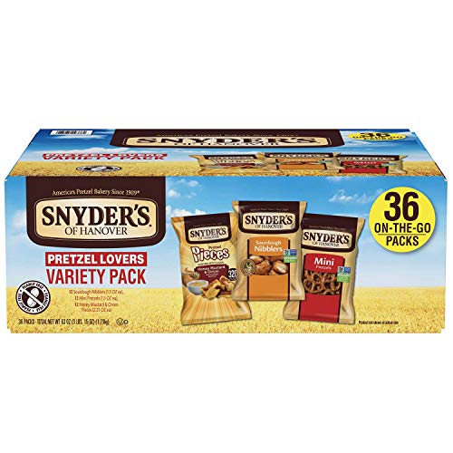 Snyder's of Hanover Pretzel Lovers Variety Pack,