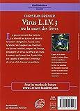 Image de Virus Liv 3 Ou LA Mort DES Livres (French Edition)