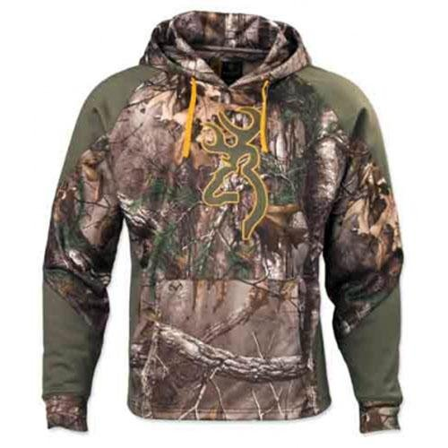 Browning Wasatch II Two Tone Hoodie, Mossy Oak Break-Up Country, Large