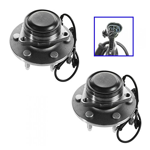 Front Wheel Bearing & Hub Assembly Pair for Chevy GMC Pickup Truck 2WD Van ()