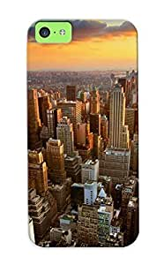 High-quality Durability Case For Iphone 5c(cityscapes New York City )