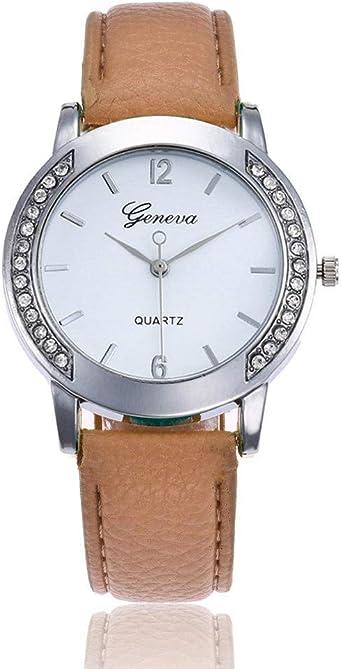 Reloj de Mujer Pulsera de Regalo Reloj de Diamantes Personalidad ...