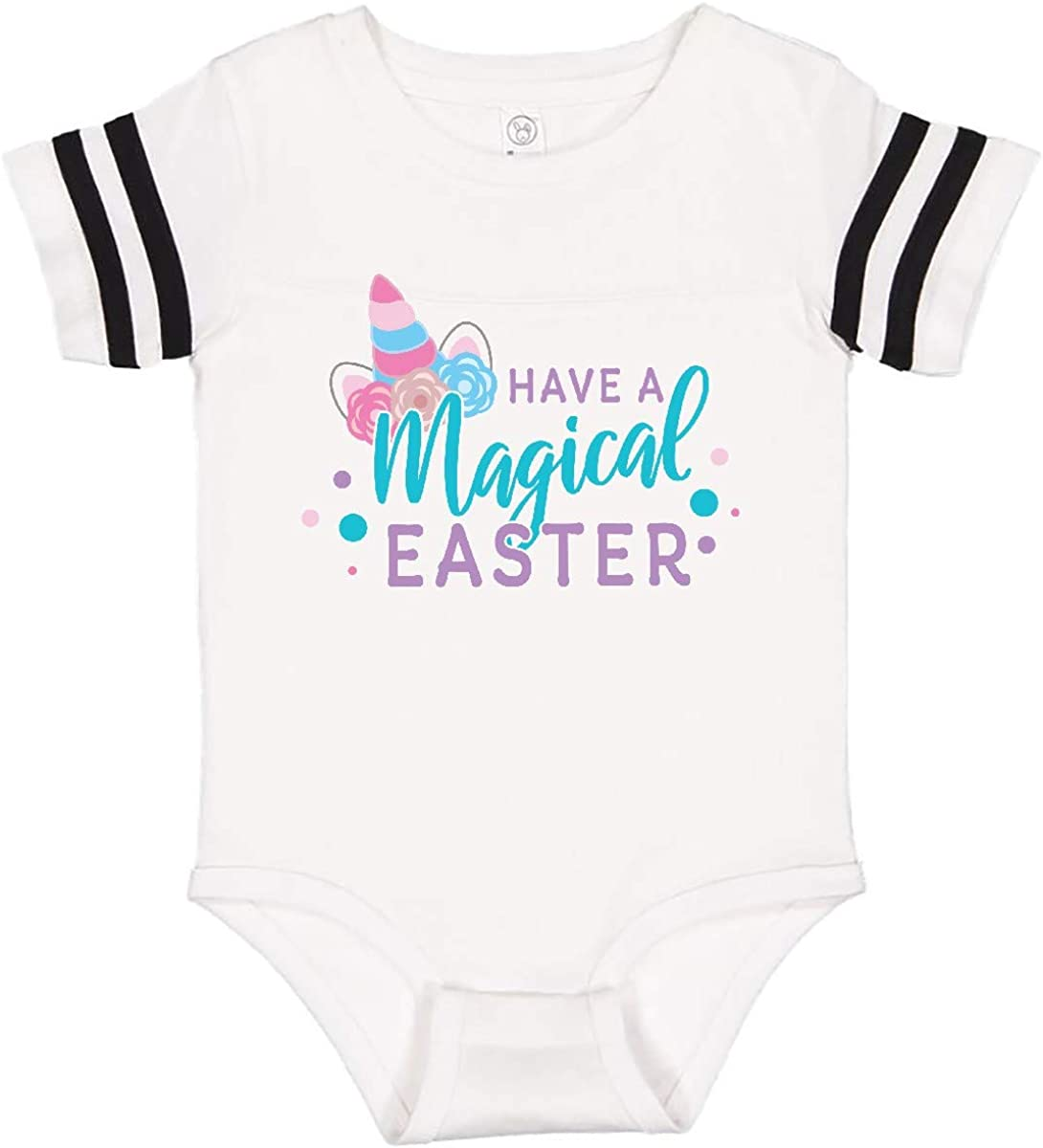 inktastic Have a Magical Easter with Unicorn Horn and Ears Infant Creeper