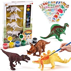 NEOWOWS Decorate Your Own Dinosaur Figur...