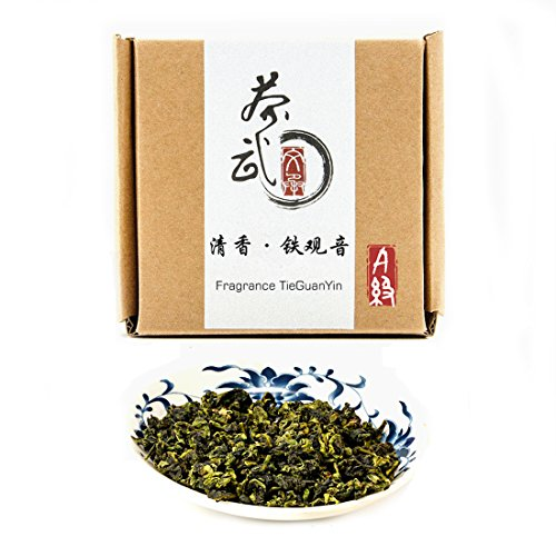 Cha Wu-[A] Fragrant TieGuanYin Oolong Tea,3.5oz/100g,New Spring Tea,Origin of AnXi,FuJian,China. (Cha Wu [A], 0.22lb/100g) by Cha Wu WarmSun