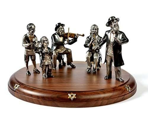 "Wedding Statue Gifts: Amazon.com: Silver Statue Figurine ""Badhan's Performance"