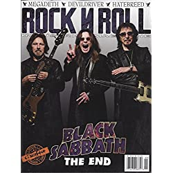 Rare 2016 Black Sabbath The End Slipknot Ozzfest meets Knotfest : Rock N Roll Industries Magazine Double Issue Megadeth Hatebreed Devildriver Slayer Anthrax Overkill Trivium : Official Program Guide
