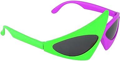 YiZYiF Novedad Gafas de Sol Dance SCSpecial Disfraz de 80s Gafas ...