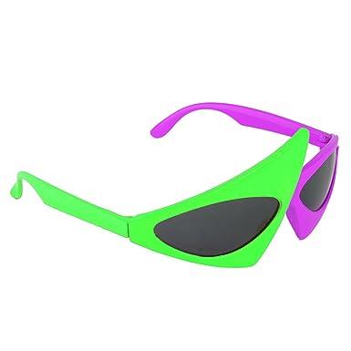 YiZYiF Novedad Gafas de Sol Dance SCSpecial Disfraz de 80s ...