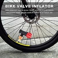 VGEBY1 Cabeza de inflador de válvula de Bicicleta, Mini Boquilla ...