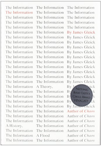 The Information: A History, a Theory, a Flood (Hardcover)-cover