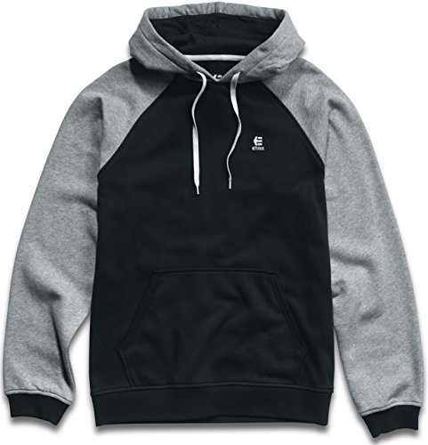 Mens Sweatshirt Etnies (Etnies Men's E-Base Hoody Pullover Sweatshirts,Medium,Black)