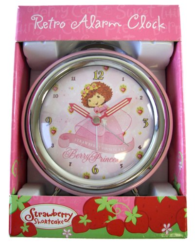 Dancer Strawberry Shortcake Alarm Clock - Strawberry Retro Alarm Clock