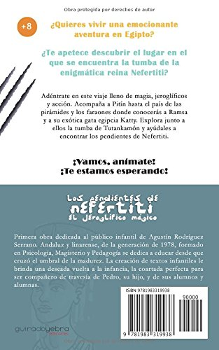 Los pendientes de Nefertiti: El jeroglífico mágico. (Spanish Edition): Agustín Rodríguez Serrano: 9781983319938: Amazon.com: Books