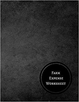 amazon farm expense worksheet farm record log journals for all