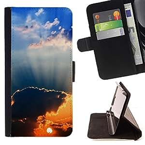 - Sunset Beautiful Nature 94 - - Monedero PU titular de la tarjeta de cr????dito de cuero cubierta de la caja de la bolsa FOR Samsung Galaxy Note 3 III RetroCandy
