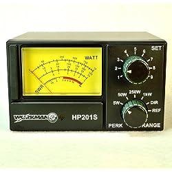 SWR / POWER METER for CB Radio 5 50 250 1000 Watts Workman HP201S