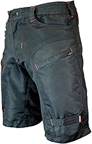 Urban Cycling Apparel The Single Tracker - Mountain Bike MTB Shorts with Secure Pockets, Baggy fit, Dry-Fast