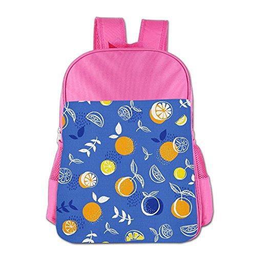 [해외]Orange Pattern School Backpack Children Shoulder Daypack Kid Lunch Tote Bags RoyalBlue / Orange Pattern School Backpack Children Shoulder Daypack Kid Lunch Tote Bags Pink