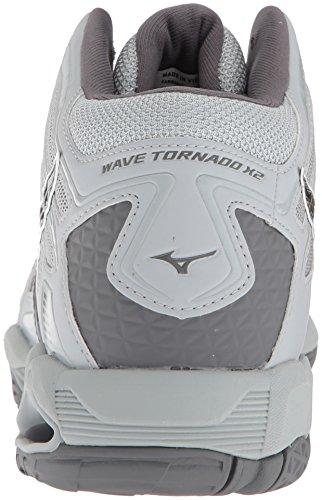 Jual Mizuno Men s Wave Tornado X2 Mid Volleyball Shoes - Volleyball ... cd7058d4b5