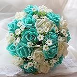 Romantic Bridal High Grade Wedding Bouquet Decoration Exquisite Wedding Flowers Faith Forever Love Bridal Bouquets