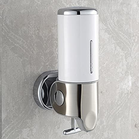 Novicz Acrylic Wall Mounting Bathroom Soap Dispenser 380ml Amazon