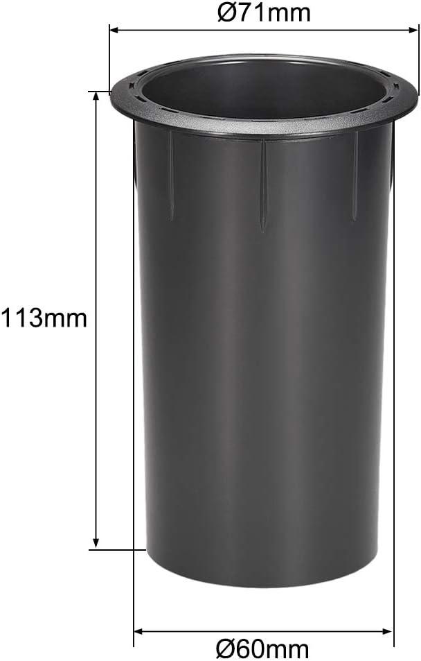 uxcell 60mm x 113mm Speaker Port Tube Subwoofer Bass Reflex Tube Bass Woofer Box 4pcs