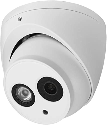 R-Tech 2MP 4-in-1 AHD CVI TVI Analog Outdoor Indoor Turret Dome Camera with Matrix IR Night Vision 2.8mm Fixed Lens White