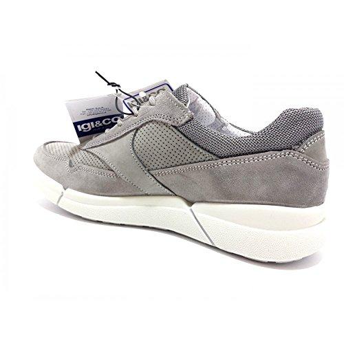 IGI CO Shoes Men Low Sneakers 1126311 Gray Grey ozhwGpT