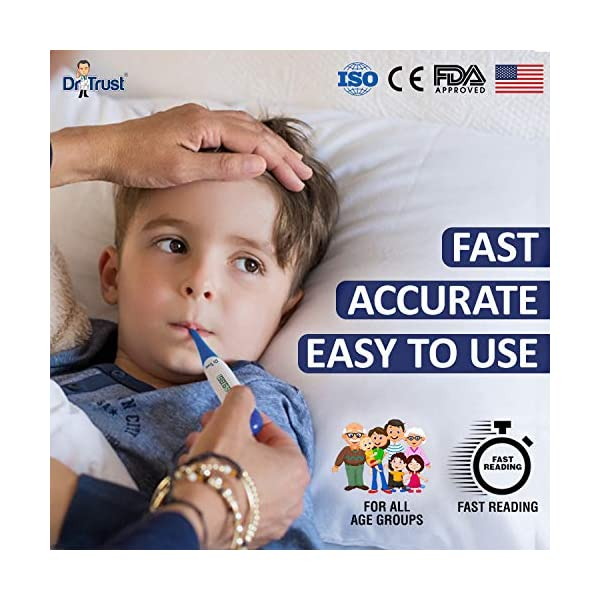 Dr Trust Waterproof Digital Flexible Tip Thermometer India 2020