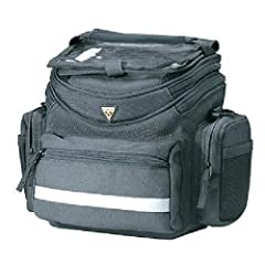 Topeak, Tour guide Handlebar Bag Black W/Fixer 8The Tourguide is a full-featured handlebar bag with a QuickClick quick-release bracket and shoulder strap that makes it easy to take it with you. For extended touring, day trips, and commuting, ...
