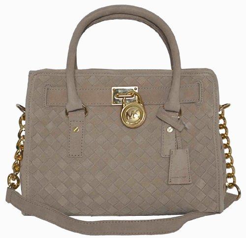 Michael Kors Woven Handbag - 8