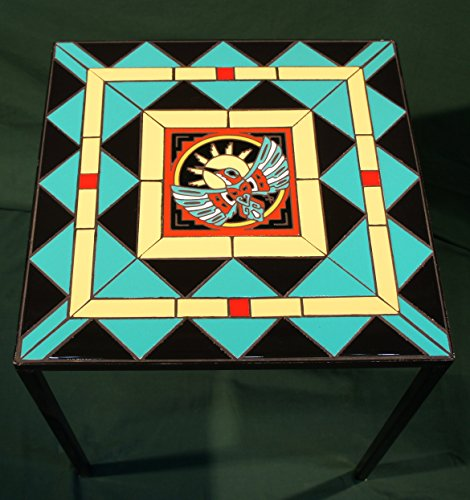 Mosaic Tile Top Table ()