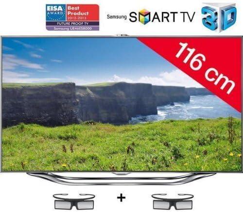 Televisor LED 3d Smart TV UE46ES8000 + Cable HDMI – 24 de karätig ...