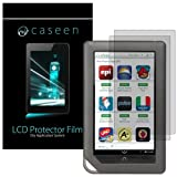 Caseen 2x GLARESHATTER Anti-Glare and Anti-Fingerprint Screen Protector for Barnes and Noble NOOK Color / NOOK Tablet
