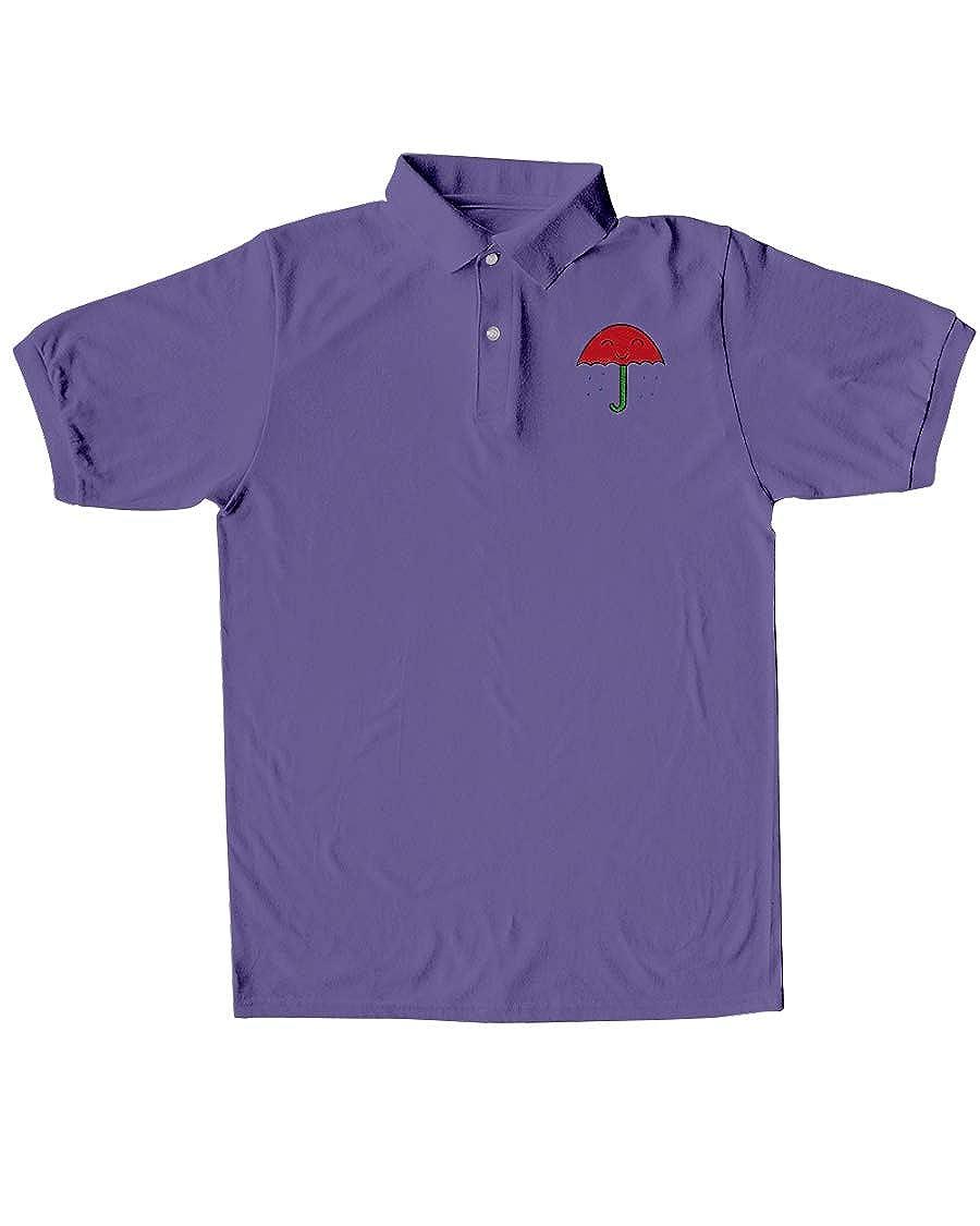 Linda Youngss LYS Rain Classic Polo Purple XL