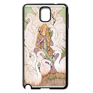 Elegent swan,swan dance Hard Snap Phone Case Cover For Samsung Galaxy Note 3 Case HSL463419