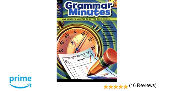 Grammar Minutes, Gr.2: Carmen Jones: 9781591989677: Amazon.com: Books