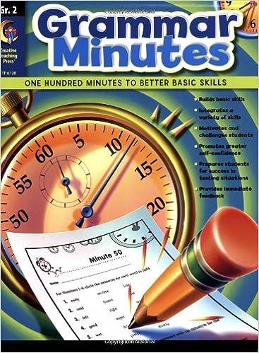 Workbook contraction worksheets for grade 3 : Grammar Minutes, Gr.2: Carmen Jones: 9781591989677: Amazon.com: Books