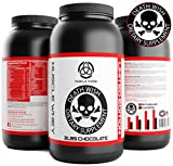 * Chocolate Muscle WHEY Protein by Death Wish Supplements * Low Fat,Low Sugar Protein Shake for Men & Women,Lean Muscle & Weight Loss,Extreme Meal Replacement,Chocolate Flavor